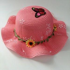 Children's Flying Butterfly Sun Hat